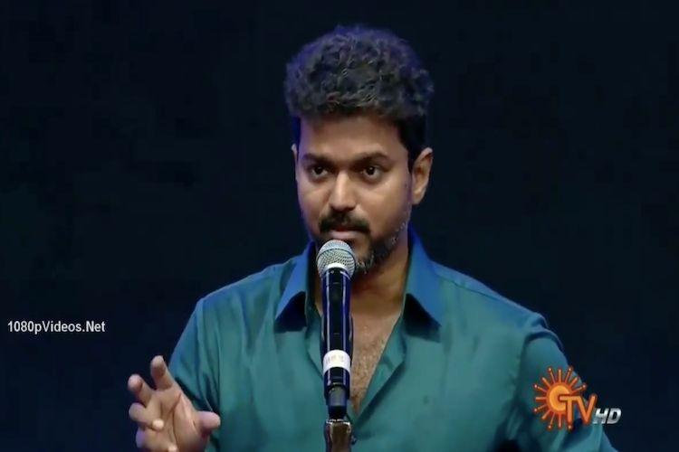 Wont act like a CM if I become one Actor Vijay hints at political entry