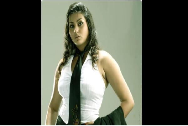 Actress Namitha raises glam quotient in TN polls joins AIADMK