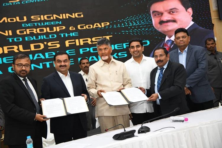 Adani Group to invest Rs 70000 cr in Andhra over 20 years to create over 1 lakh jobs