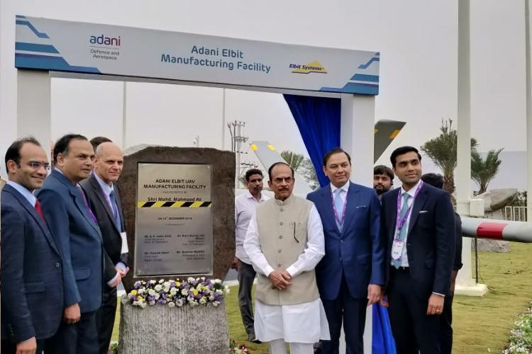 Adani-Elbit set up Indias first private UAV unit in Hyderabad