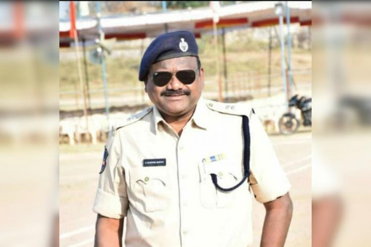Additional Superintendent of police for Jagtial district in Telangana Dakshinamurthy K who tested positive for COVID19 a week ago passed away on Wednesday morning due to cardiac arrest