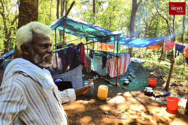 Fighting for basic rights dont care about womens entry Adivasis near Sabarimala