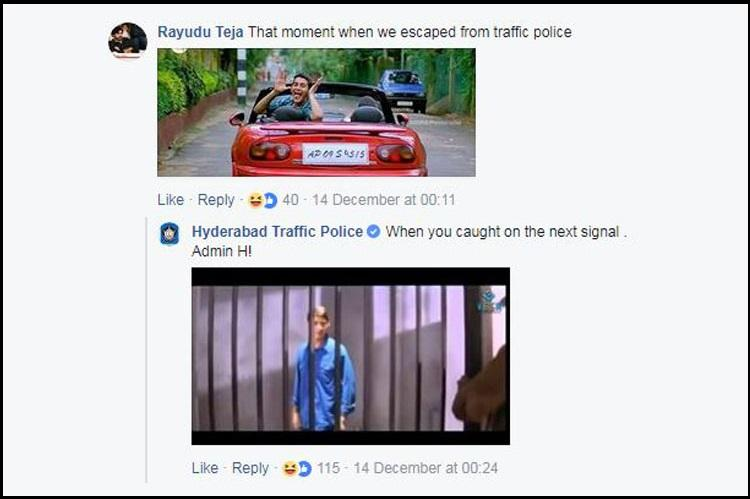Who is Admin H Meet the man tickling the internet on Hyd Traffic Polices FB page