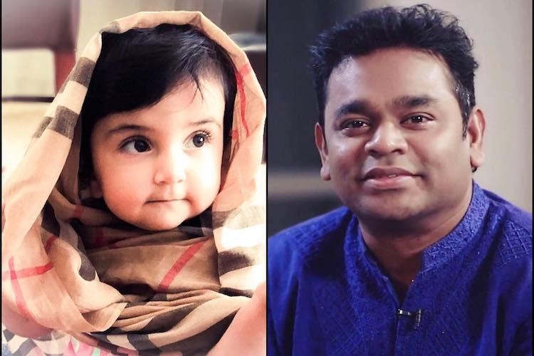 Adnan Samis toddler accidentally FaceTimes AR Rahman fixes his bad mood