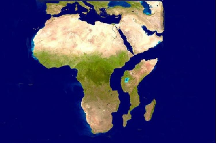 Large crack in East African Rift is evidence of continent splitting in two