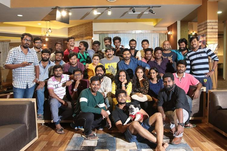 First schedule of Agni Siragugal starring Vijay Anthony Arun Vijay wrapped up