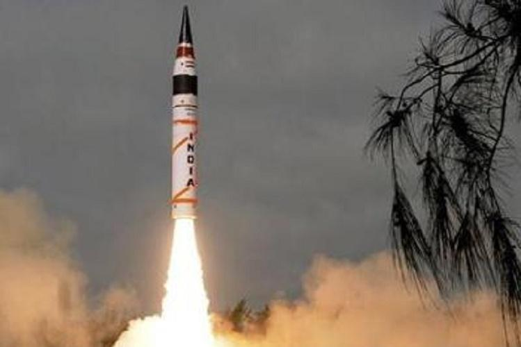 India test fires indigenous inter-continental Agni-V missile off Odisha coast