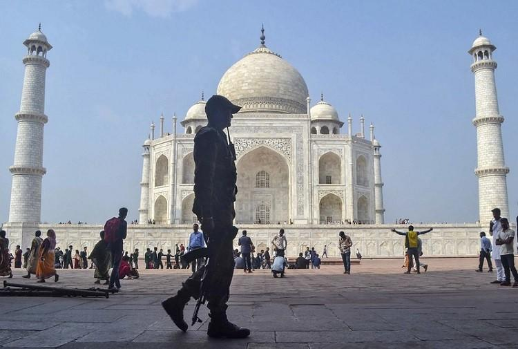 From beautification to security Agra turns into fortress for Trumps visit