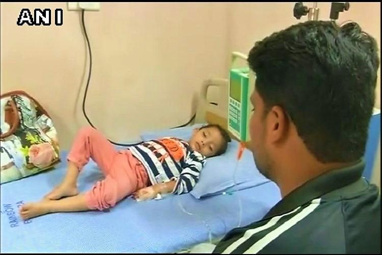 A 3-yr-old girl in Hyderabad cries tears of blood her father appeals for help