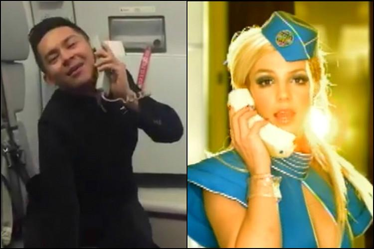 Airasia Flight Attendant S Toxic Moves Will Even Have Britney Spears Applauding The News Minute