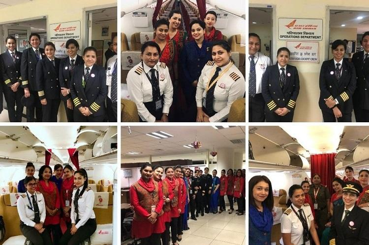 Airlines in India to operate all-women crew flights on Womens Day