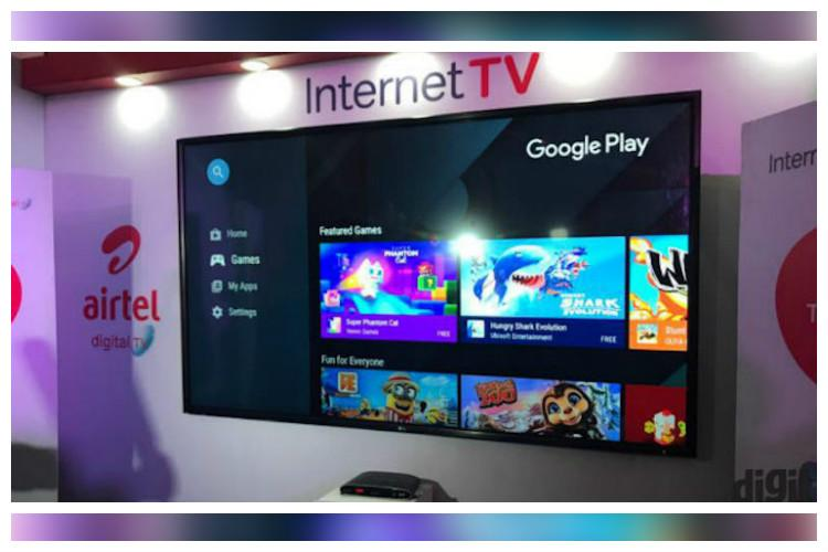 Satellite Tv And Internet >> Airtel Joins Internet Tv Bandwagon Launches Set Top Box Offering