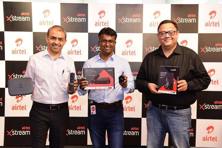 Airtel takes on JioGiga Fiber launches Xstream set top box smart stick