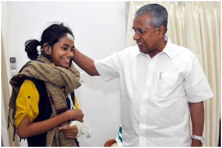 In her eyes one sees strength of JNUs fight Pinarayi after meeting Aishe Ghosh