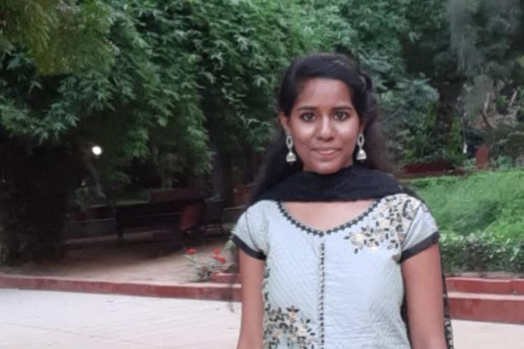 Photo of LSR student Aishwarya Reddy
