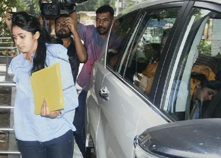 DK Shivakumars daughter Aisshwarya questioned for 7 hours by ED