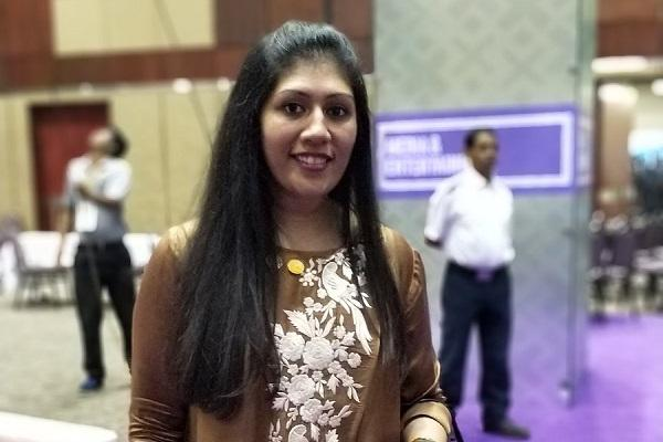 Ajaita Shah founder of Frontier Markets wins GIST 2017 pitch competition at GES