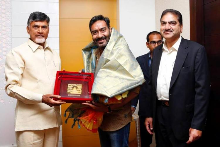 Actor Ajay Devgn to be Andhras new brand ambassador