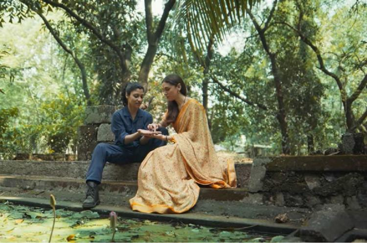 Konkona Sen Sharma and Aditi Rao Hydari in Ajeeb Daastaans