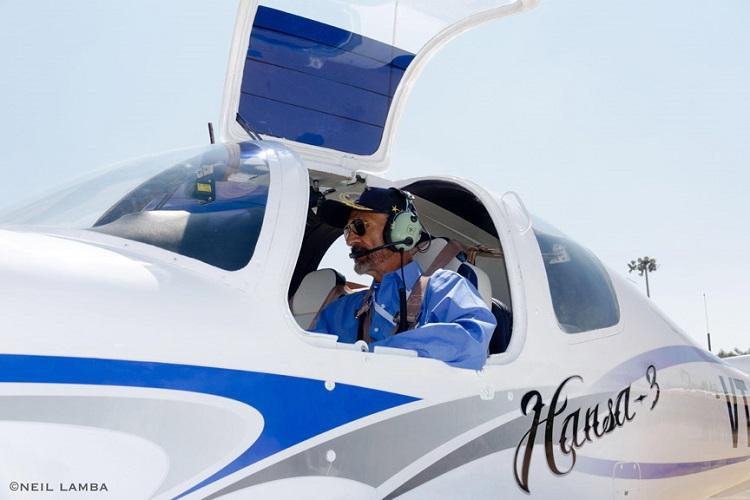 At 81 this retired IAF officer from Bengaluru is still flying high
