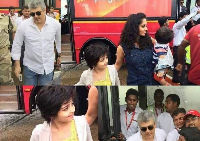 Thala Ajith holidaying in Goa with family before work starts on next film