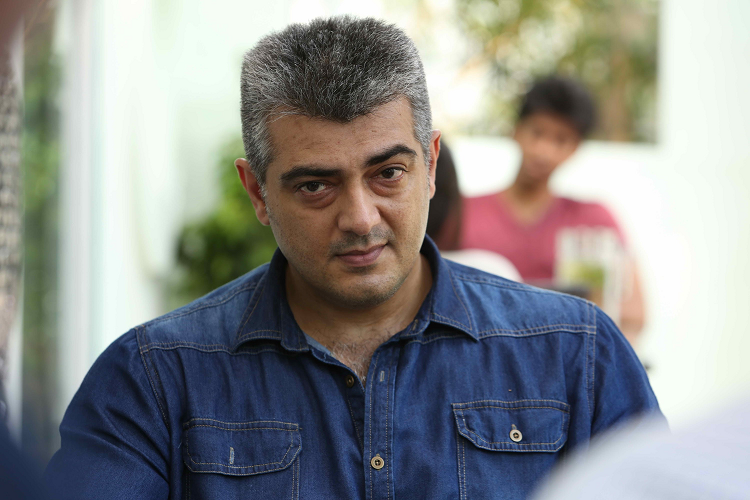 Ajith wont sport salt and pepper look in Viswasam