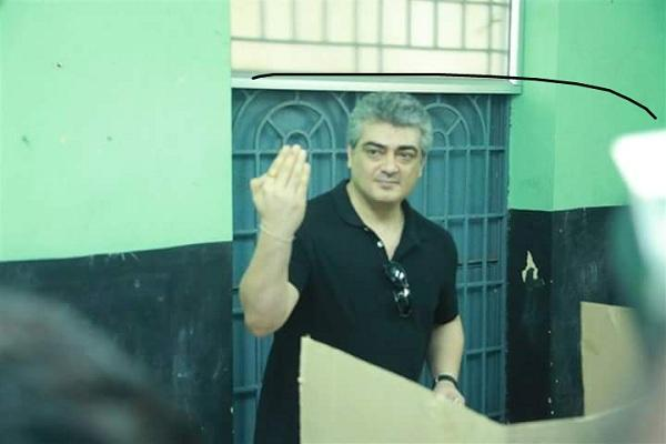 Ajith FC vs Vijay FC Thalas look a hit but gets trolled for inking the wrong finger