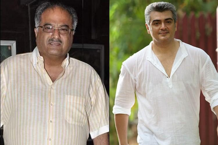 Boney Kapoor denies signing Aijth for a Hindi film