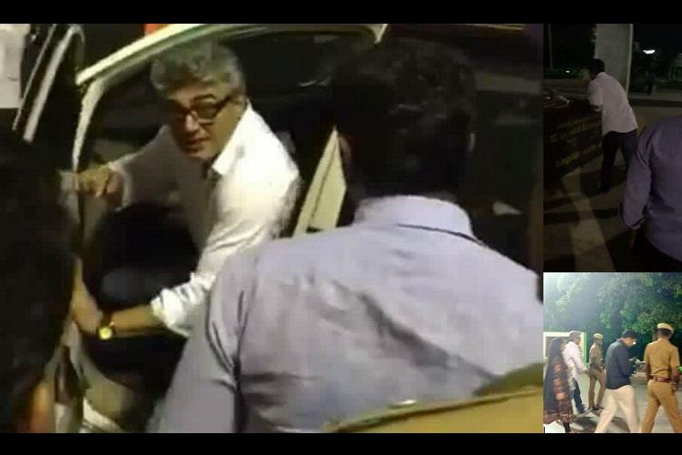 Why Thala Ajith Rocks Flies out of Bulgaria and drives straight to Amma Memorial