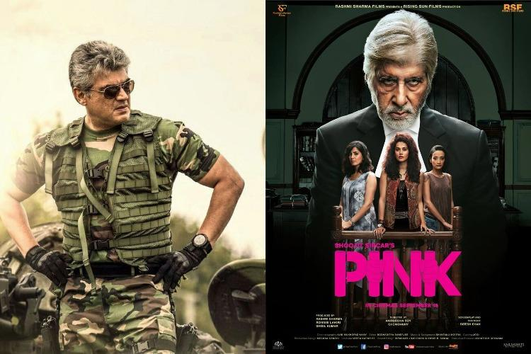 'Pink' to be remade in Tamil: Ajith to reprise Amitabh ...