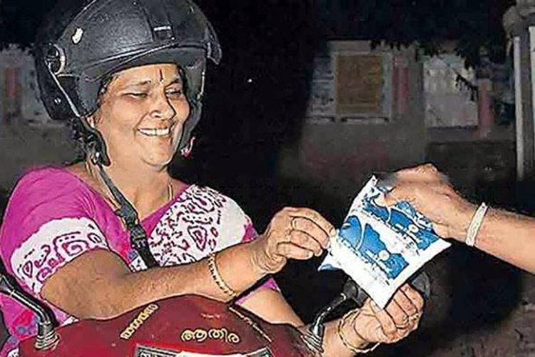 Thrissurs new Mayor Ajitha has been delivering milk for 18 yrs and has no plans to stop