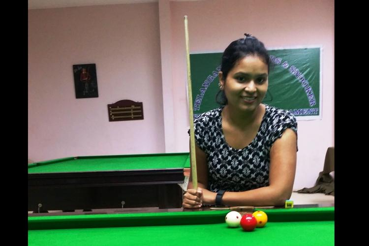 Meet Telanganas first woman cueist who promises a good show at world meet