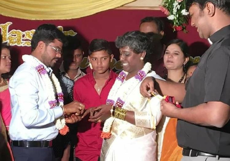 Trans activist Akkai Padmashali registers marriage first in Karnataka