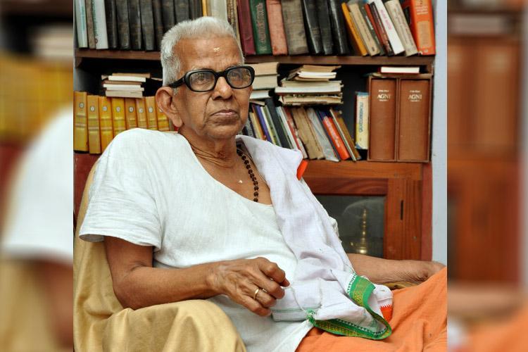 Noted Malayalam poet Akkitham wins 2019 Jnanpith award