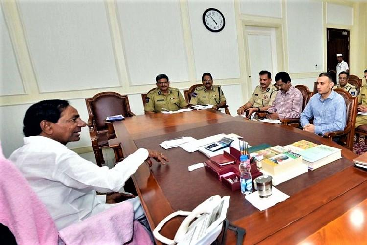 Telangana CM KCR speaks on drug bust says users will not be treated as criminals
