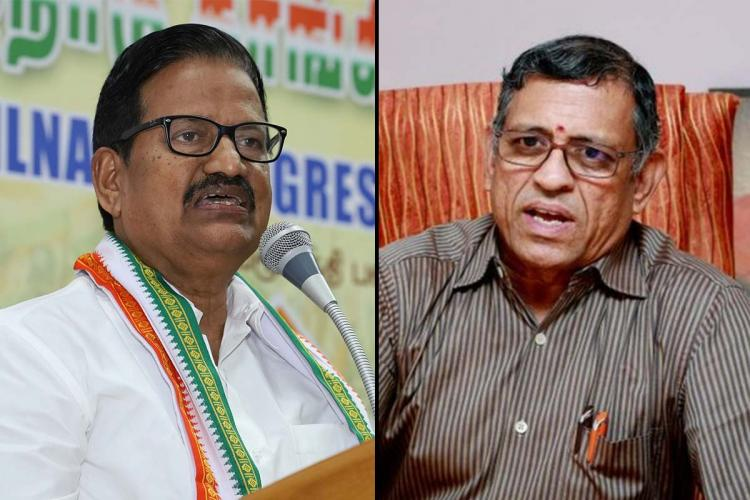 Gurumurthy the Editor of Tughlak alleged a National Herald type scam brewing in TN Congress His claim is that the Gandhi family is trying to gain control of the assets of the TNCC Charitable Trust