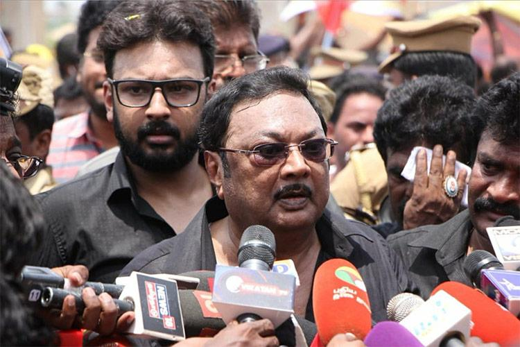 Ground report Alagiris show of strength in Chennai fails to hit the mark