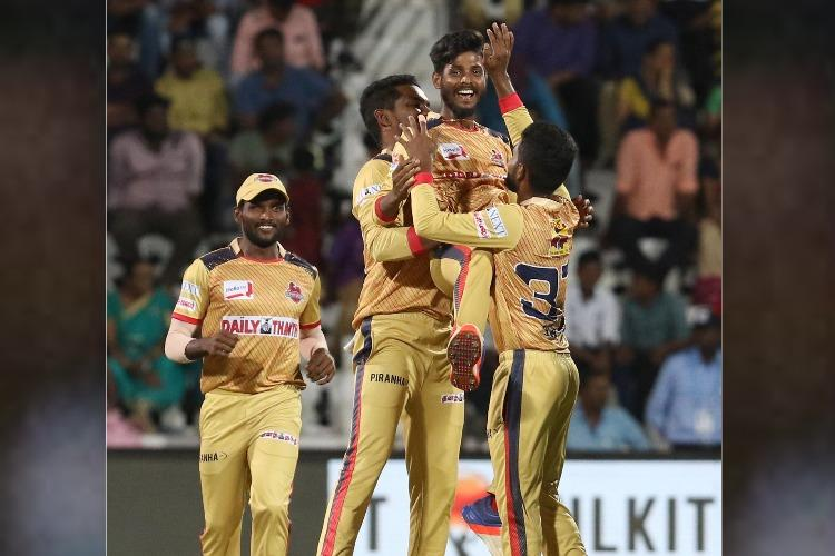 TNPL 2019 round-up Dindigul Dragons post second win of tournament to top table