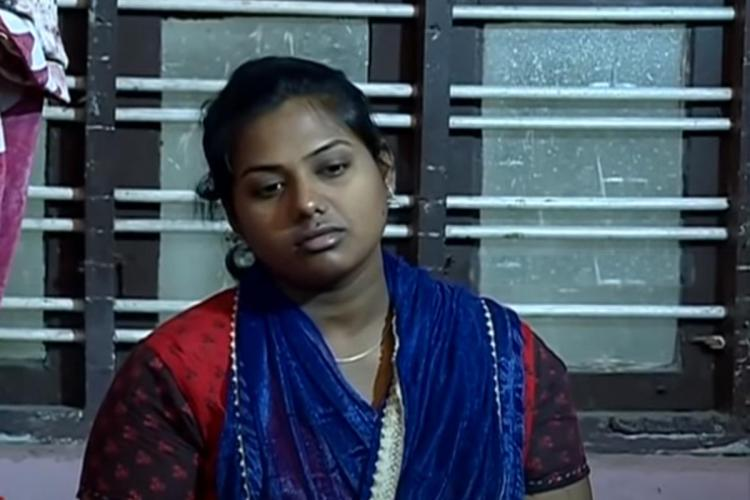 Alfina who alleged medical negligence against government hospital in Kerala