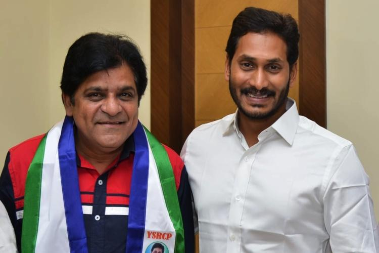Telugu actor Ali and TDPs Devineni Chandrasekhar join YSRCP