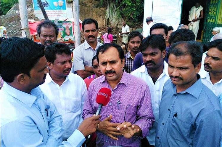 YSRCP MLA arrested for obstructing land acquisition in Amaravati after CRDA complaint