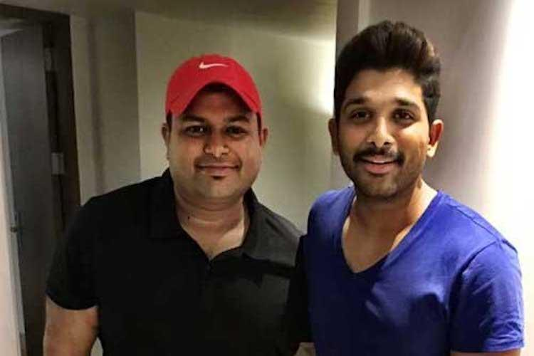 Allu Arjun and S Thaman to work together for the third time