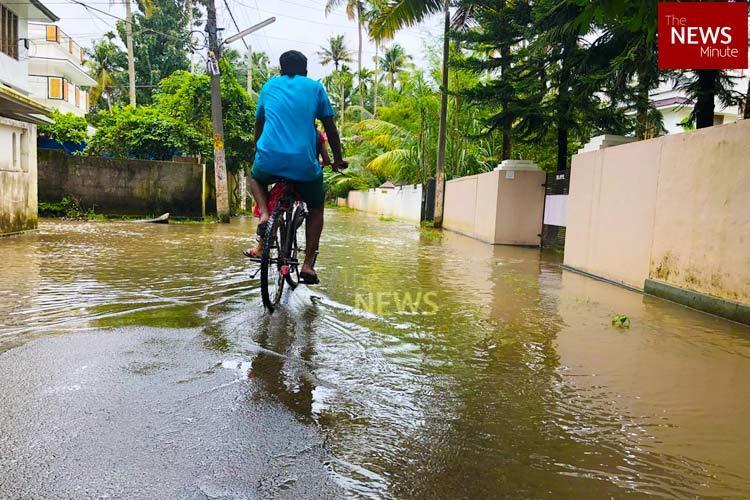 Tropical storm brewing in Arabian Sea very heavy rainfall predicted in Kerala IMD
