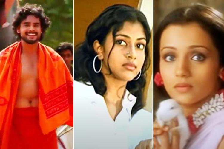 Tovino Amala Paul and Trisha in old albums