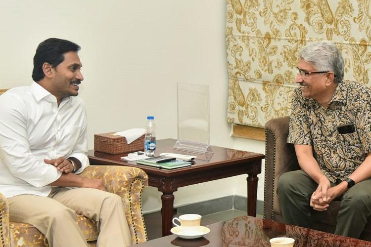 Senior journalist Devulapalli Amar takes charge as National Media Advisor to AP govt