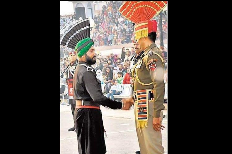 Meet the first Sikh man from the Pakistani army who took part in Wagah parade