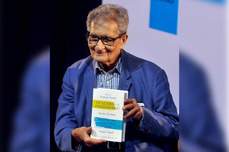 India heading for comprehensive healthcare crisis Amartya Sen
