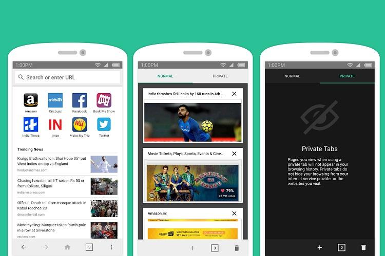 Amazon launches India specific lite mobile browser 'Internet'