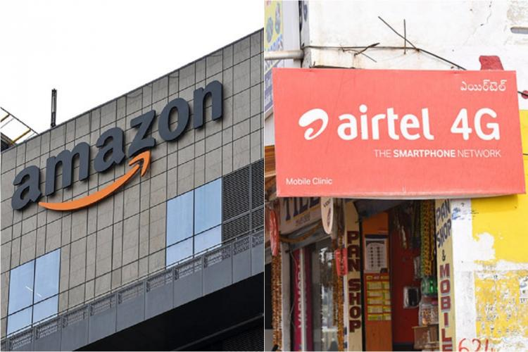 Amazon in talks to pick up 5 stake in Bharti Airtel for 2 billion Report
