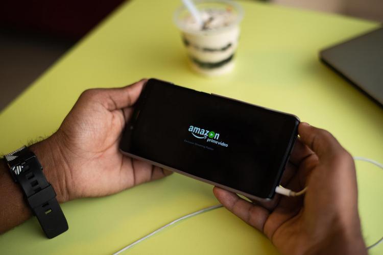 Amazon Prime Video app on phone
